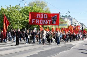 Röd Front-demonstrationen i Göteborg
