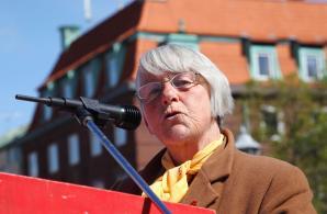 Vera Peterson talar i Halmstad