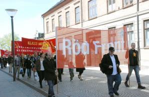 Röd Front-demonstration i Helsingborg