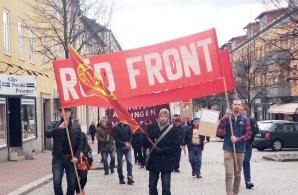 Röd Front-demonstrationen i Ludvika