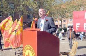 Robert Mathiasson talar i Malmö