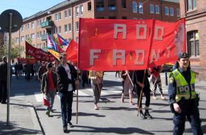 Röd Front-demonstrationen i Malmö