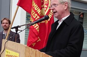 Anders Carlsson talar i Norrköping