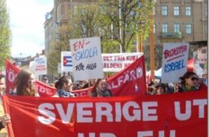 Röd Front-demonstration i Jönköping