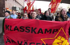 Röd Front-demonstrationen i Stockholm