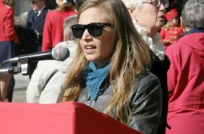 Hannah Ascher talar i Uddevalla
