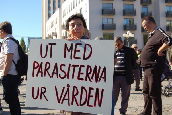 Ut med parasiterna ur vården
