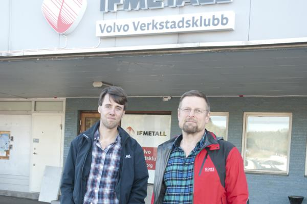 Erik Pettersson och John Näsman