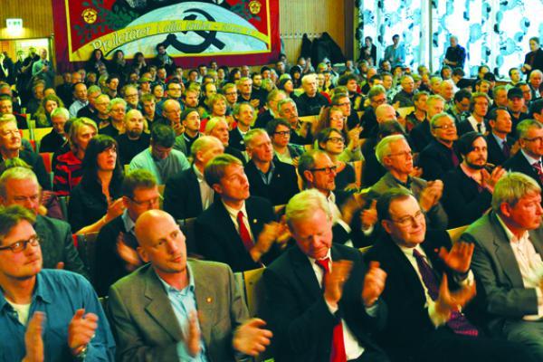 Kommunisternas kongress.