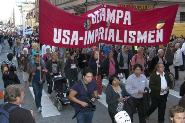 Bekämpa USA-imperialismen