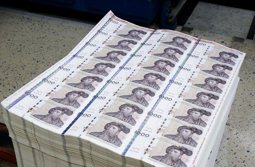 pengar slampa stor i Stockholm