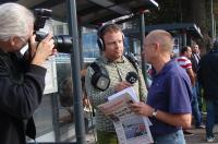 Radio Kristianstad intervjuar Ulf Johansson från Kommunistiska Partiet.