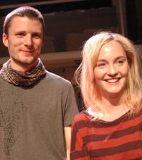 Örjan Ahnoff och Sofia Pekkari