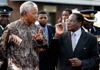 Mandela och Mugabe.