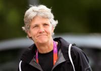 Pia Sundhage delar ut priser i Slottsskogen 20 september.